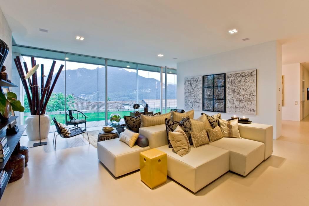 Living Room Salas de estilo ecléctico de Viterbo Interior design Ecléctico