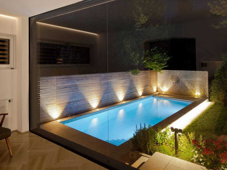 UMBAU/ZUBAU SALZBURG Moderne Pools von aichberger architektur ZT Modern