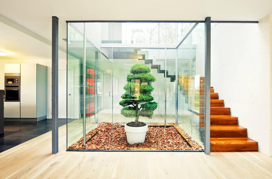 斯堪的納維亞風格的走廊,走廊和樓梯 根據 rdl arquitectura 北歐風