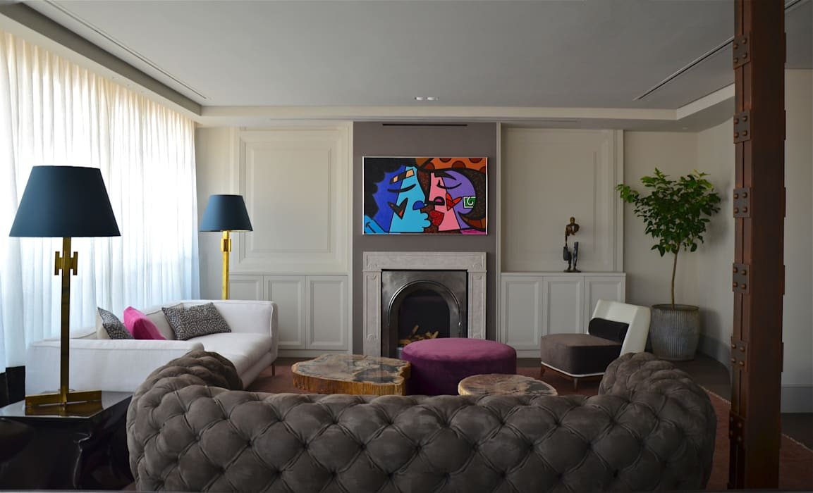 Living room by Ines Benavides, Modern