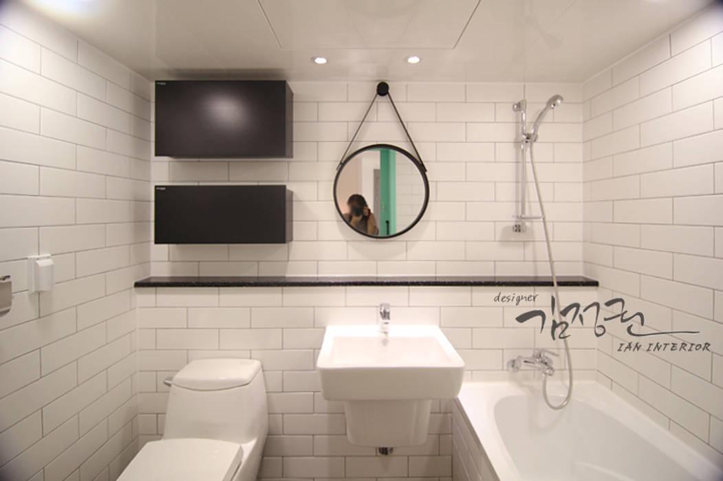 Moderne Badezimmer von 김정권디자이너 Modern MDF