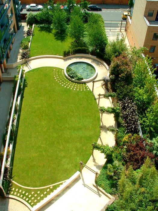 The Pavilion, London Jardines de estilo moderno de Bowles & Wyer Moderno