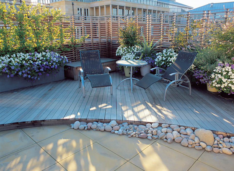 A Roof Garden, Chelsea Bowles & Wyer ระเบียง, นอกชาน