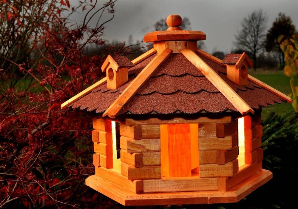Vogelhaus Vogelhäuschen Mit Solarbeleuchtung Garten Von Deko Shop