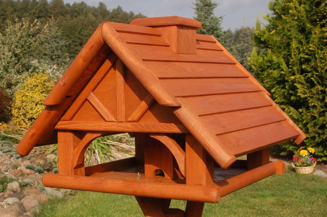 Vogelhaus Holz Futterhaus Von Deko Shop Hannusch Klassisch