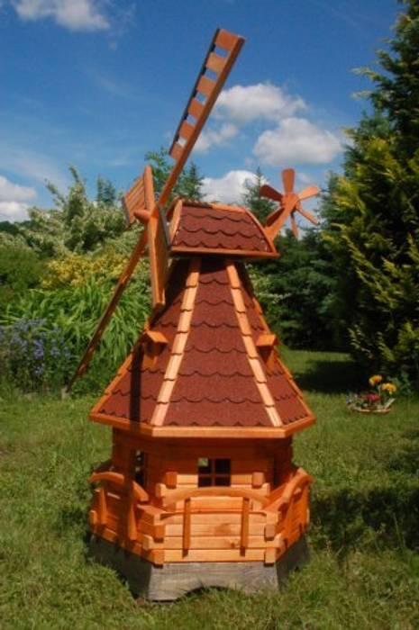 Deko Shop Hannusch windmühle mit solarbeleuchtung, windmill: garten von deko shop