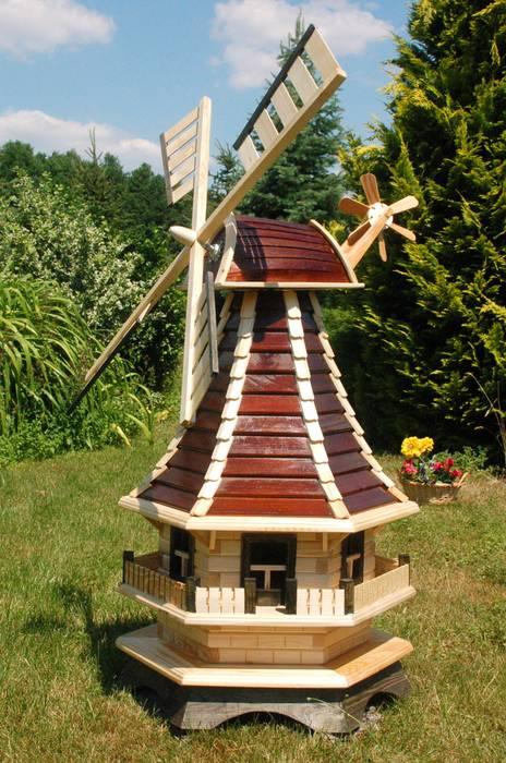 Deko Shop Hannusch windmühle, norddeutsche windmühle: garten von deko shop hannusch