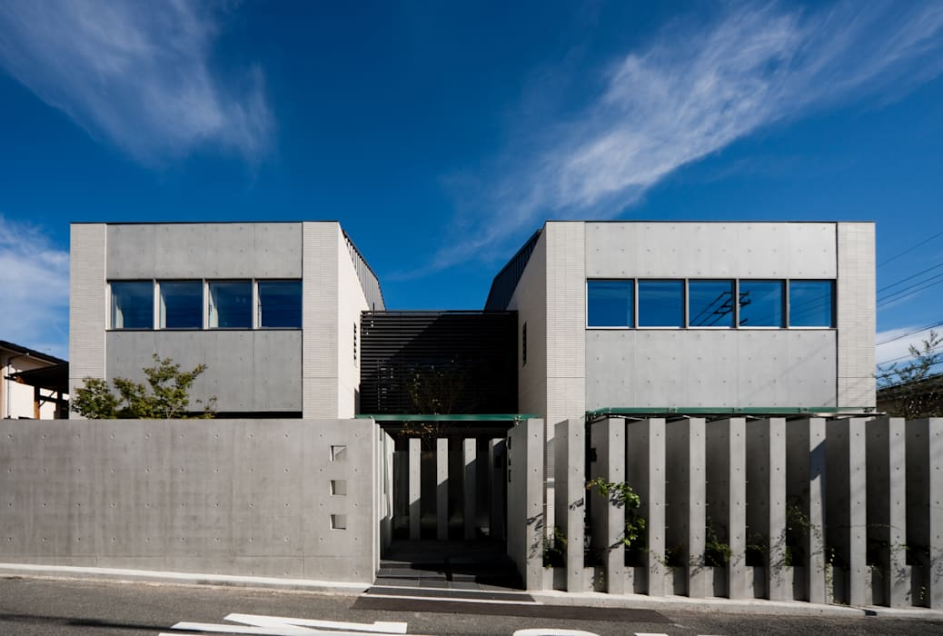 奈良登美ヶ丘 F邸 Moderne Häuser von t-yokota Modern