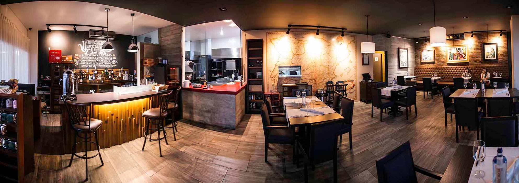 El Molino del Quijote: Restaurantes de estilo  por Taller La Semilla, Moderno