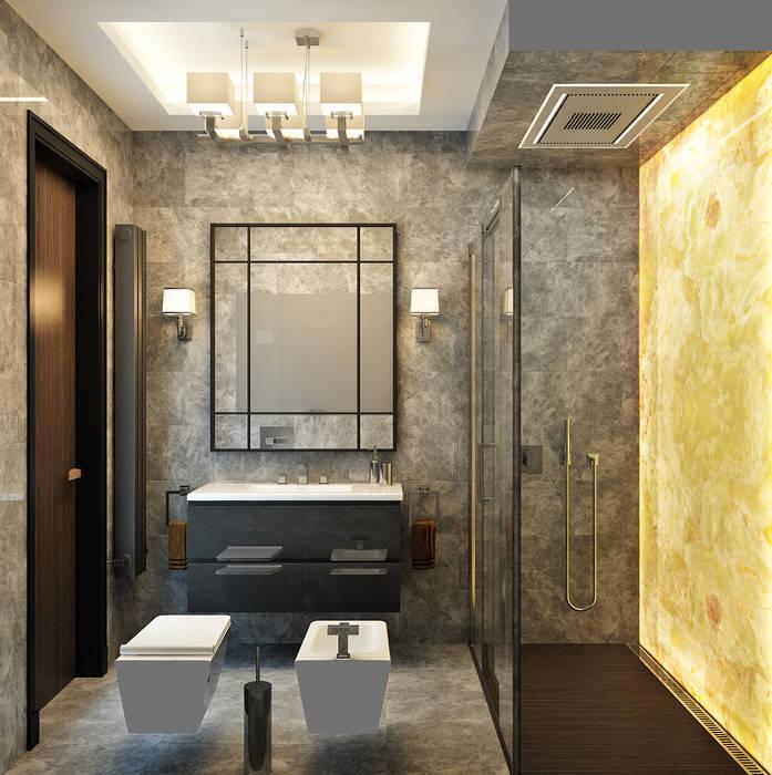 Санузел Ванная комната в эклектичном стиле от Rash_studio Эклектичный