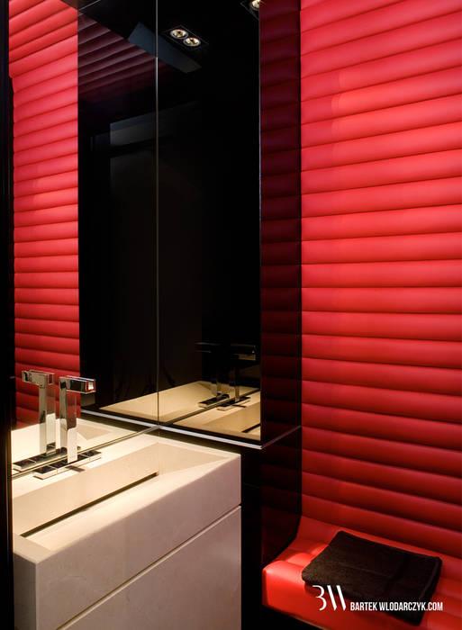 Wc Minimalistyczna łazienka od Bartek Włodarczyk Architekt Minimalistyczny