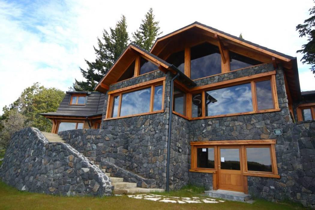 Casas estilo moderno: ideas, arquitectura e imágenes de Lüters ochoa arquitectos Moderno