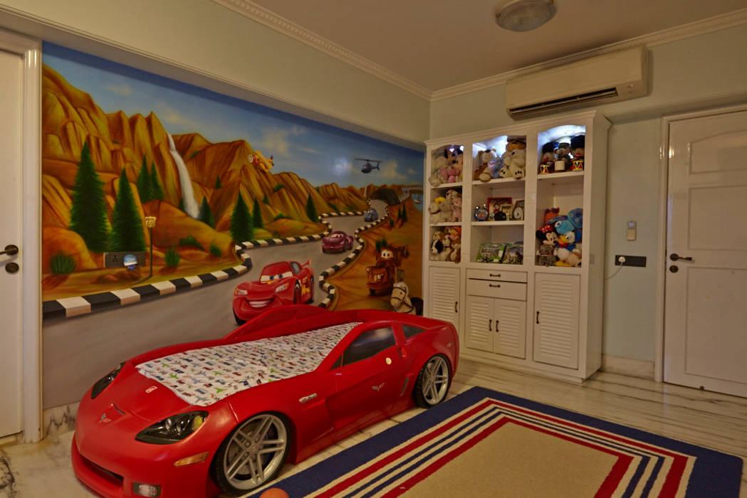 Dormitorios de estilo  de Interface