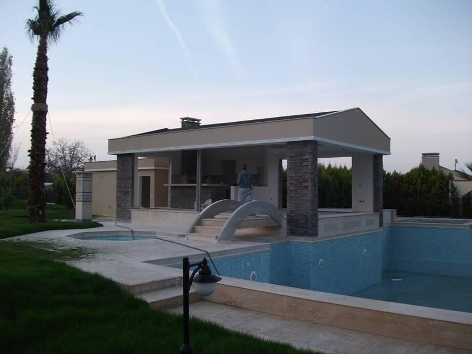 Maisons modernes par AÇIT MİMARLIK DEKORASYON İNŞ. SAN. TİC. LTD. Moderne