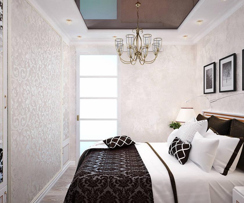 Французский стиль для современной спальни Спальня в стиле модерн от Студия дизайна Interior Design IDEAS Модерн