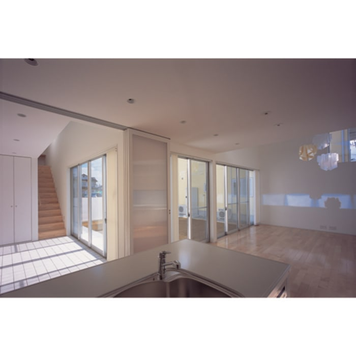 関建築設計室 / SEKI ARCHITECTURE & DESIGN ROOM ห้องโถงทางเดินและบันไดสมัยใหม่