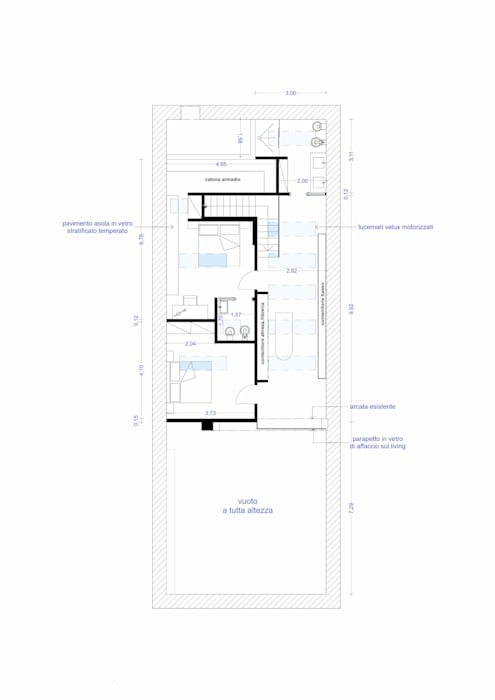 Second Level: Soggiorno in stile in stile Moderno di RDstudioarchitettura - daniele russo architetto