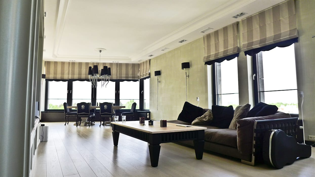Modern living room by PIKSTUDIO Modern