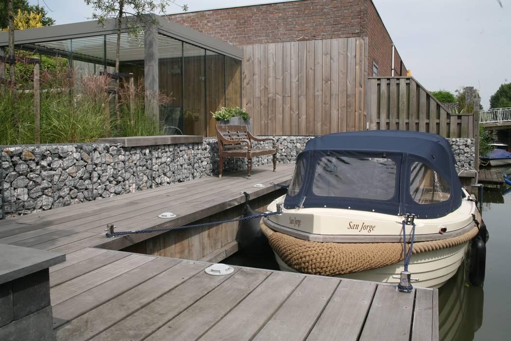 Vlonders Moderne tuinen van René Don Hoveniers Modern
