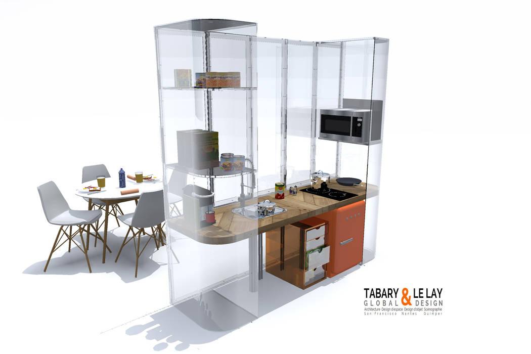le PLAN B: Cuisine de style de style Moderne par Tabary Le Lay