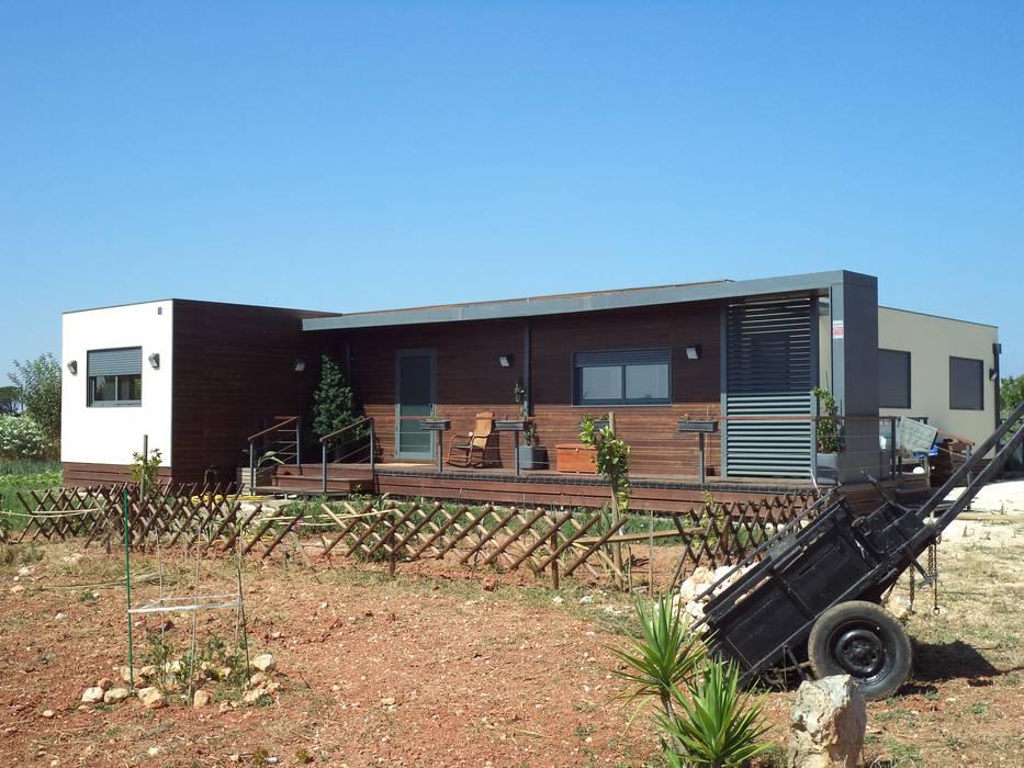 Casas de estilo  por KITUR, Rural