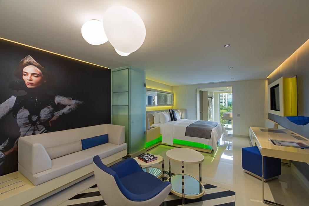 Habitación: Recámaras de estilo moderno por diesco