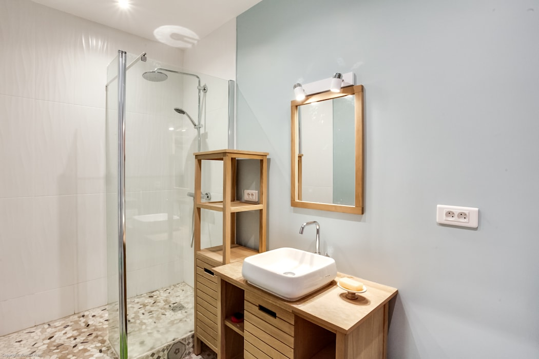 Salle de bain contemporaine salle de bain moderne par ...
