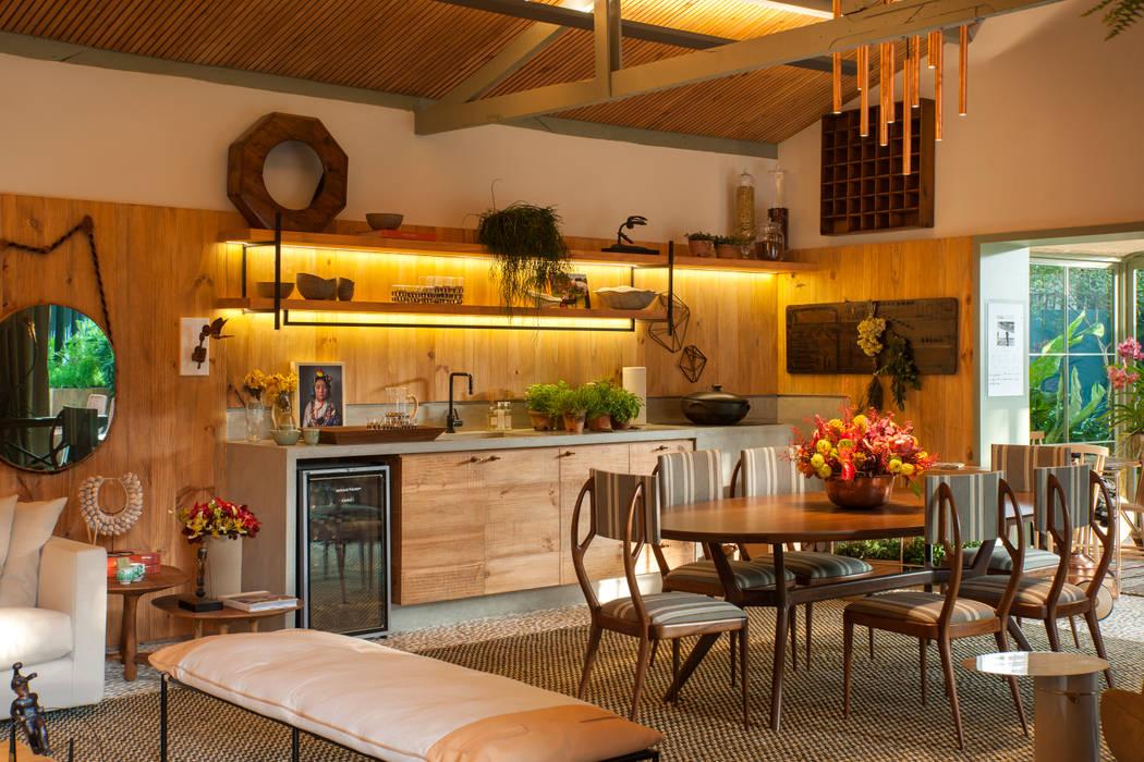 Casa Cor 2015/ A Casa da Gente Marina Linhares Decoração de Interiores Cozinhas tropicais