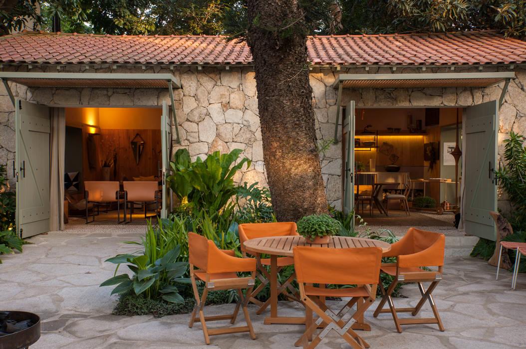 Casa Cor 2015/ A Casa da Gente Jardins tropicais por Marina Linhares Decoração de Interiores Tropical