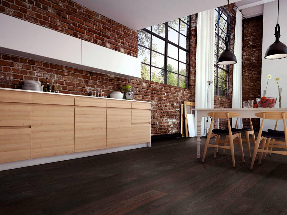Tường & sàn phong cách hiện đại bởi Hain Parkett Hiện đại