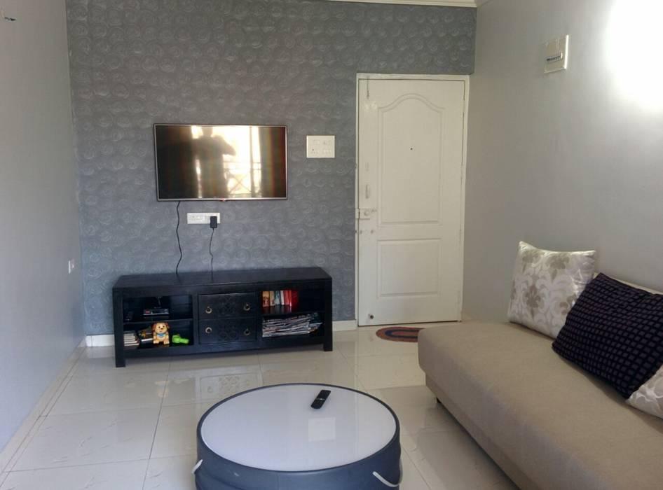 The Living Area Modern living room by DS DESIGN STUDIO Modern