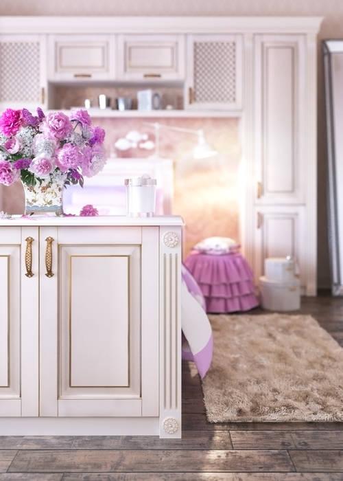 Детская комната Детская комнатa в классическом стиле от Дмитрий Каючкин Классический