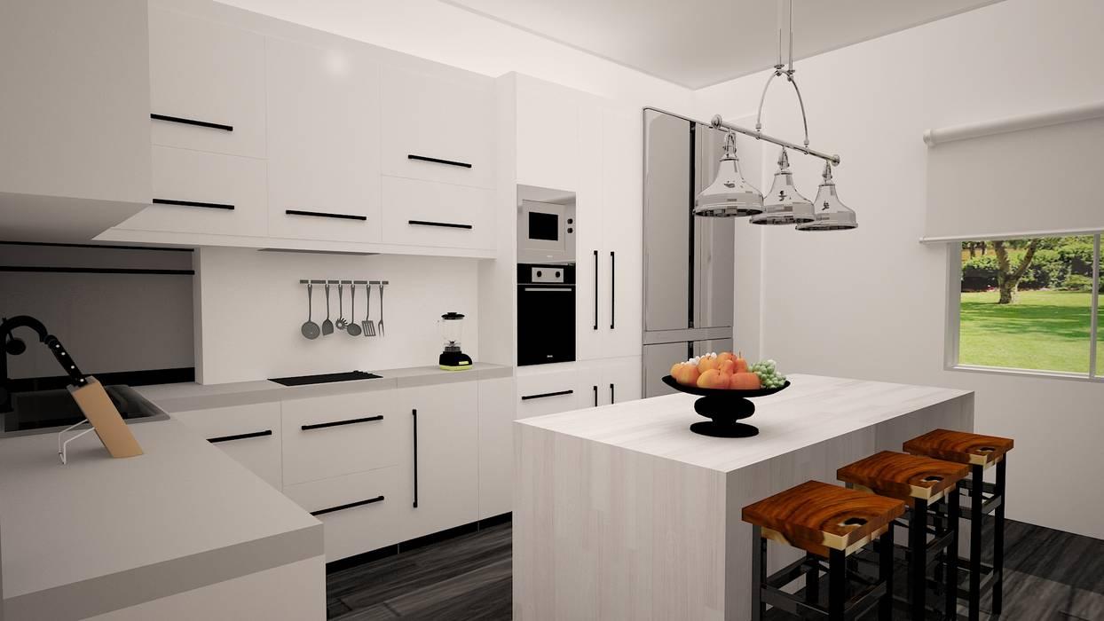 Cocina Cocinas de estilo moderno de Ana Corcuera Interiorismo Moderno