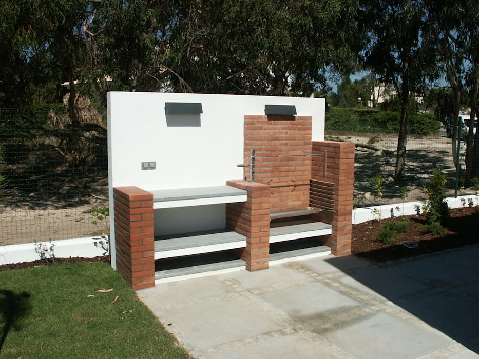 Grelhador Casas modernas por Pardal Monteiro Arquitetos, lda Moderno