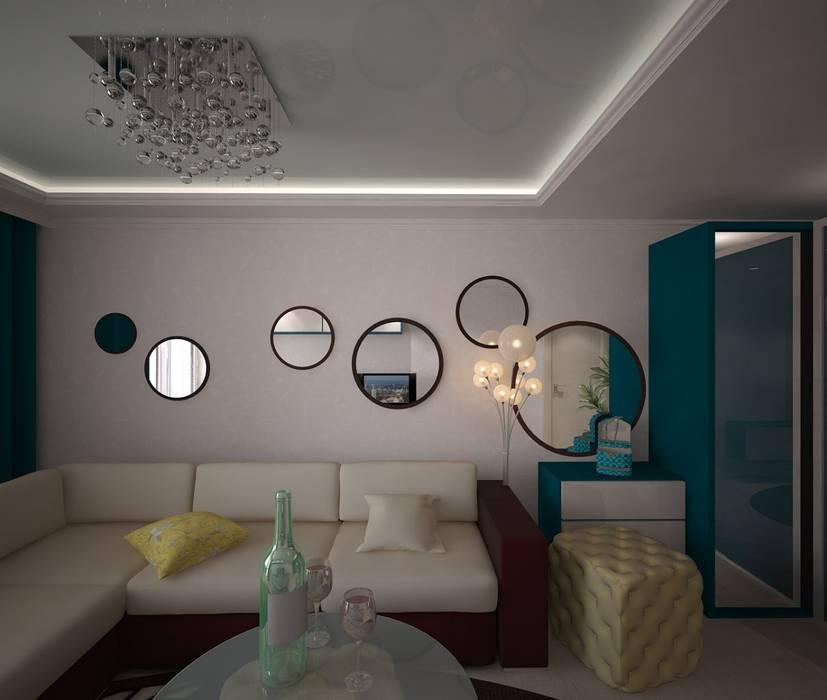 Ruang Keluarga Klasik Oleh 3D студия Klasik