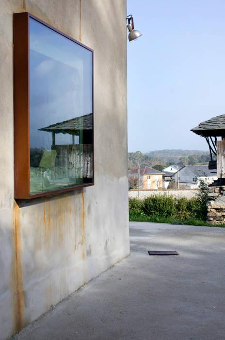 Reforma Vivienda Unifamiliar Puertas y ventanas de estilo moderno de Tagarro-De Miguel Arquitectos Moderno