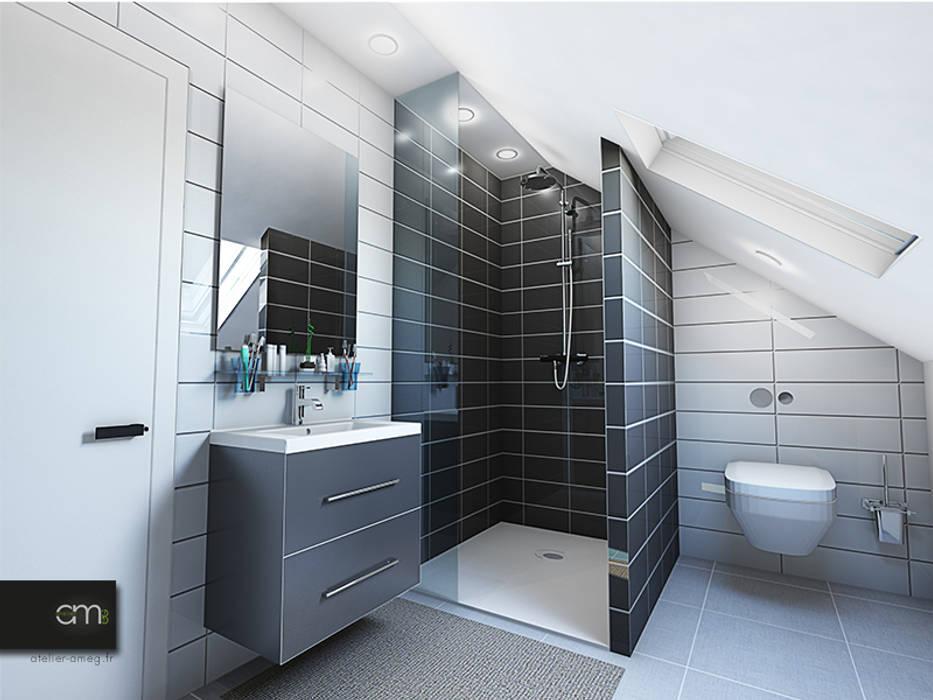 Modern Bathroom by atelier AMEG Modern