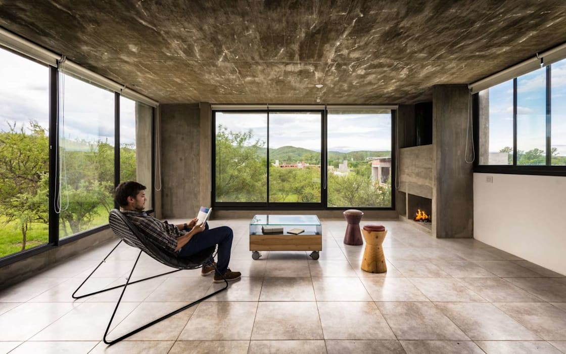 ARP Arquitectos 现代客厅設計點子、靈感 & 圖片