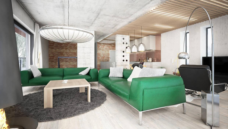 Majchrzak Pracownia Projektowa Modern Living Room