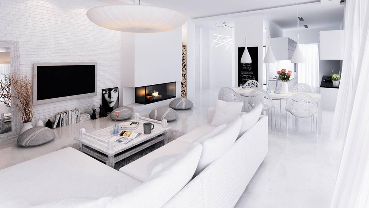 Majchrzak Pracownia Projektowa Living room
