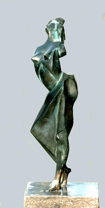 modern  by Beeldhouwerij van Velzen, Modern Copper/Bronze/Brass