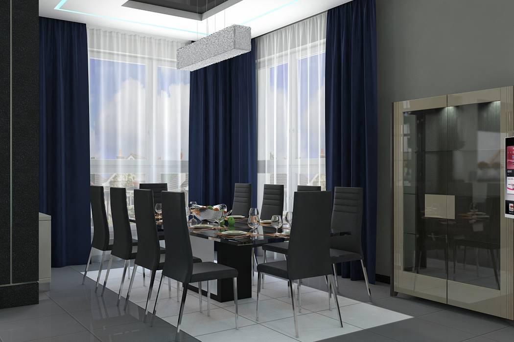 Столовая Кухня в стиле минимализм от Дизайн студия Жанны Ращупкиной Минимализм