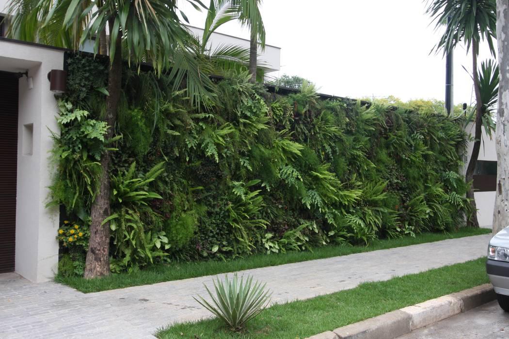 Fachada - Painel verde HZ Paisagismo Jardins tropicais