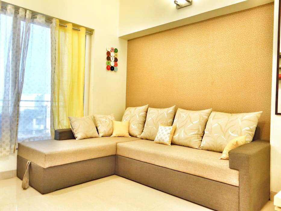 Guest Room Nuvo Designs BedroomSofas & chaise longue Textile