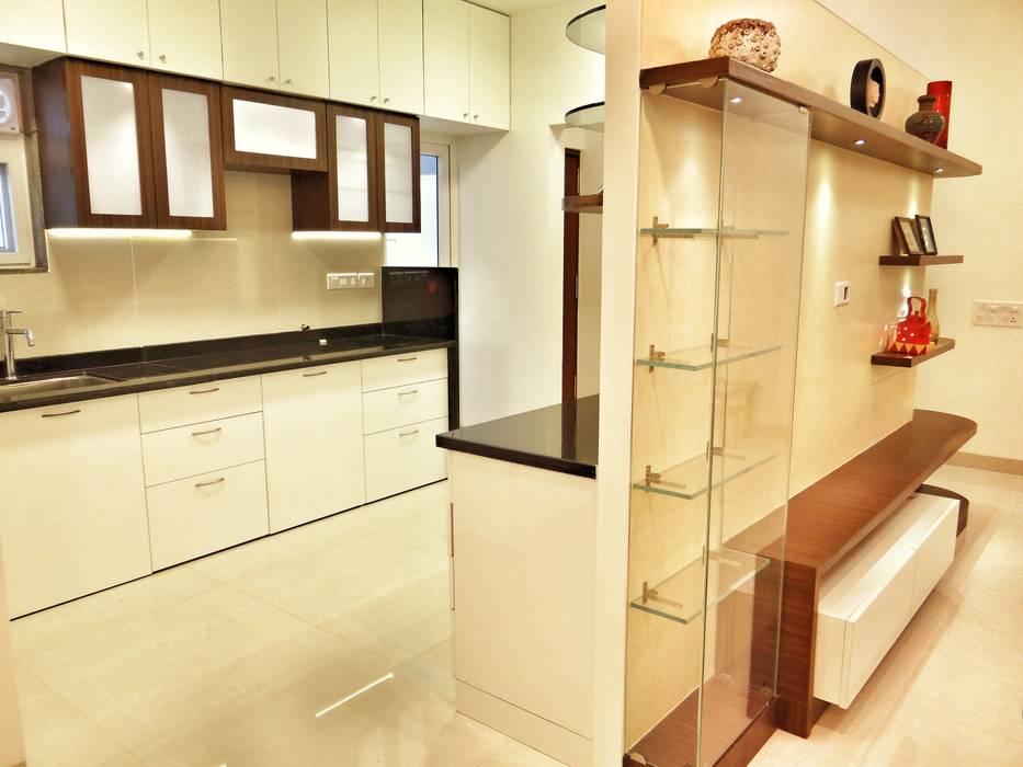 Kitchen Area Nuvo Designs KitchenCabinets & shelves Glass