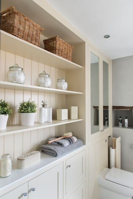Hidden Storage Workshop Interiors Classic style bathroom