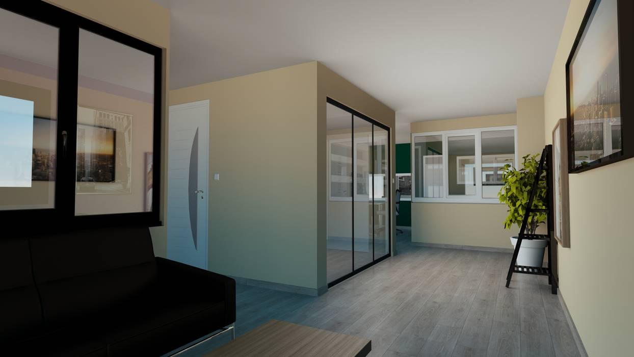 Pintu & Jendela Modern Oleh Agence 3Dimensions Modern