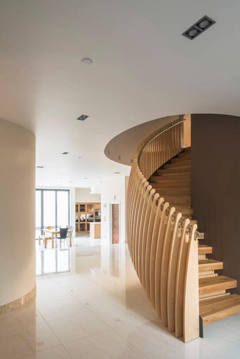 Princes Way ห้องโถงทางเดินและบันไดสมัยใหม่ โดย Frost Architects Ltd โมเดิร์น
