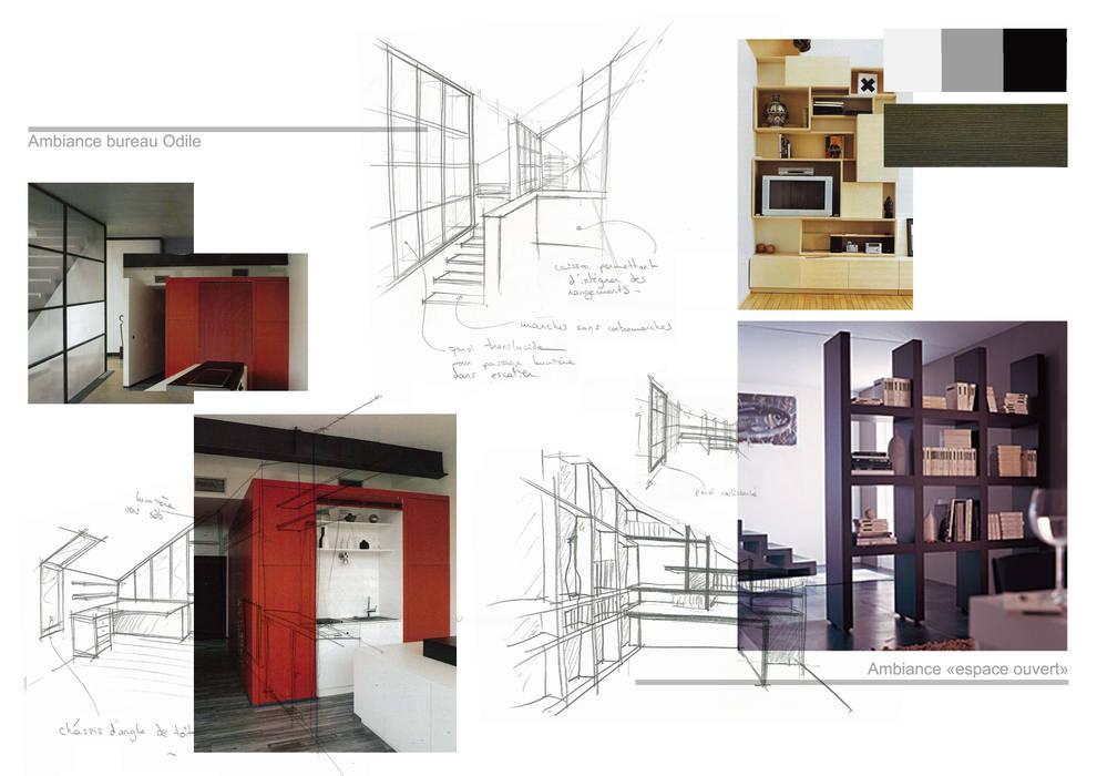 Planche d'ambiance bureaux: Bureau de style de style Moderne par Kauri Architecture