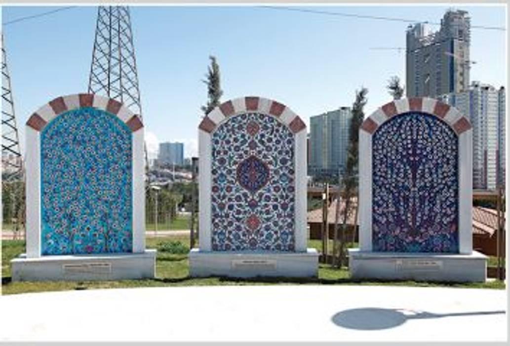 MİMAR SİNAN PARKI / ATAŞEHİR - İSTANBUL Klasik Bahçe ANİKYA İZNİK ÇİNİ Klasik Kuvars